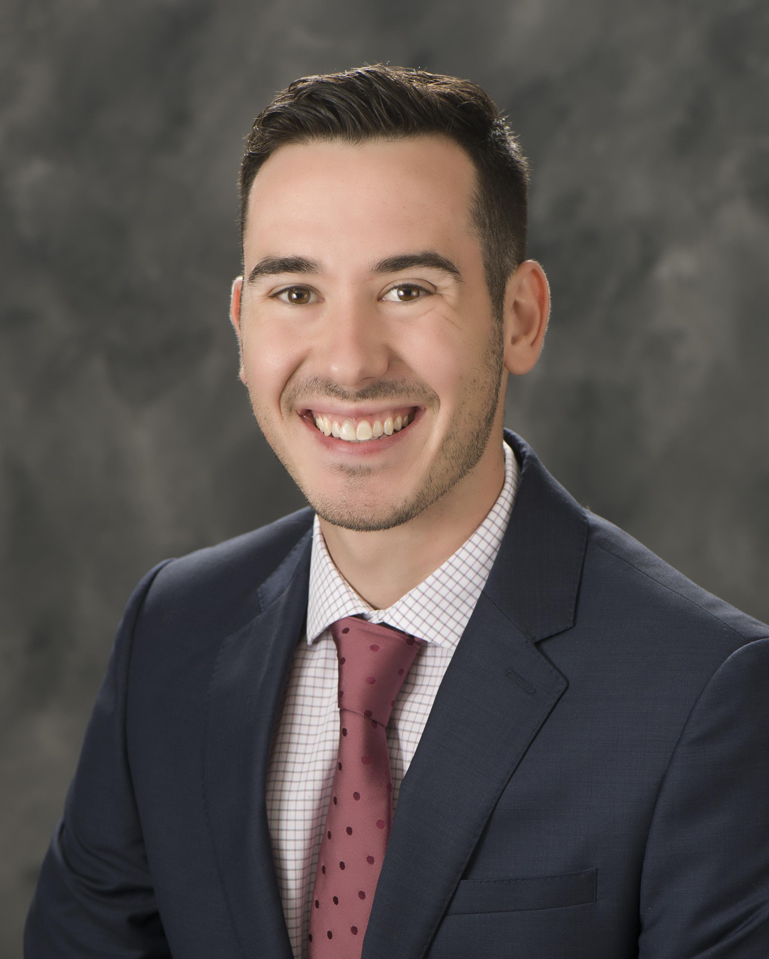 sports sales manager Zach Franklin