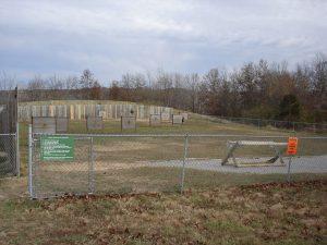 Archery range at American Legion Park