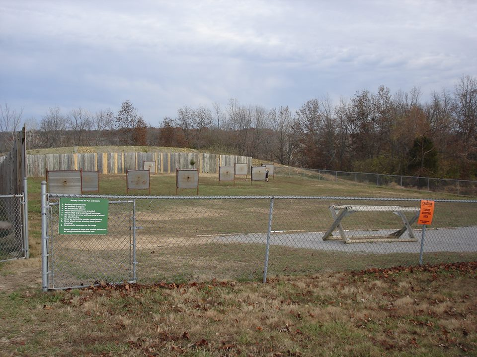 Archery range at American Legion Park