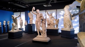 The Cast Gallery at the Museum of Art and Archaeology