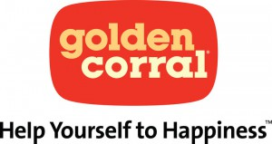Golden Corral logo - Help yourself to happiness