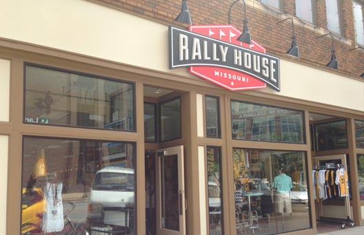 Rally house exterior