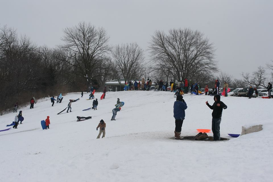 stephens lake park sledding