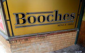 Booches billiard hall sign