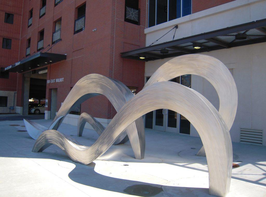 public sculpture called Tidal Murmur