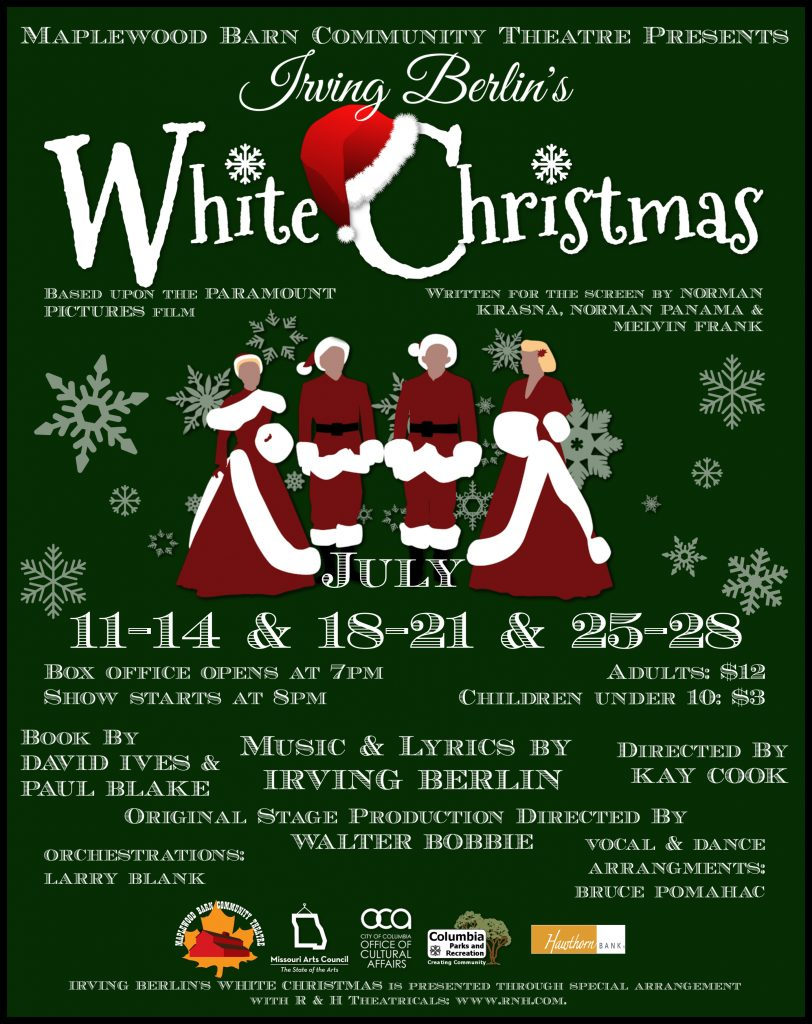 White Christmas Irving Berling.White Christmas Columbia Convention And Visitors Bureau