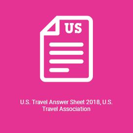 U.S. Travel Answer Sheet 2018, U.S. Travel Association