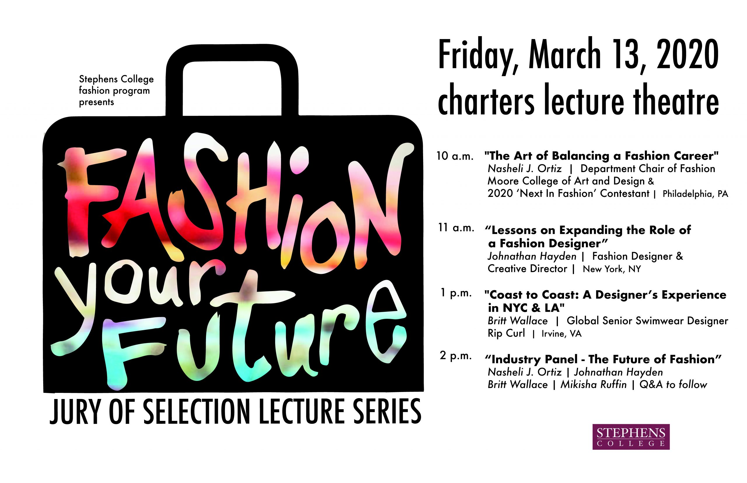 Canceled Fashion Your Future Jury Of Selection Lecture Series Columbia Convention And Visitors Bureau